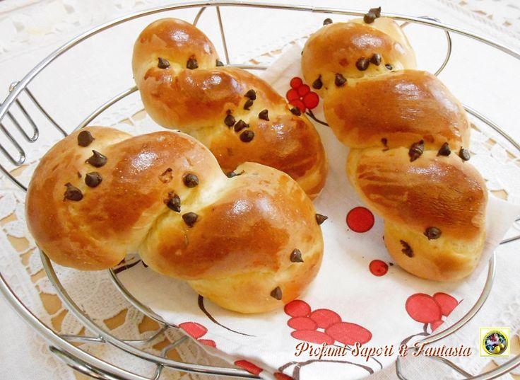 Treccine di pan brioche Bimby e tradizionale
