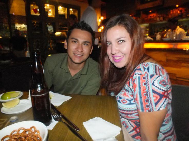 Brenda Santos y Christopher Aguilar