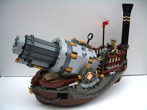 Vulcan: Prussian Naval Howitzer - ThreeQuarterView by 2 Much Caffeine, via Flickr