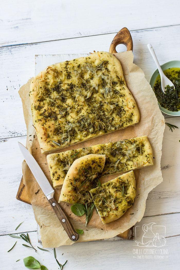 Najlepsza focaccia z warsztatów kulinarnych w Umbrii - z oliwą, ziołami i ziemniakami
