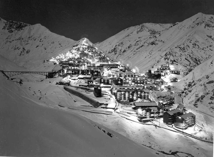 Sewel, antigua mina de carbon. Chile.