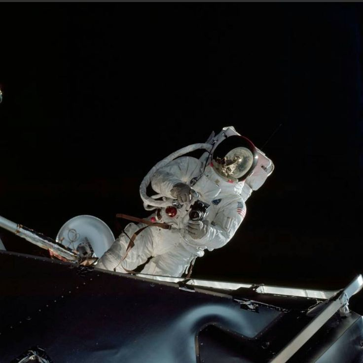 This week in 1969, the Apollo 9 crew splashed down after a 10-day mission. Here, astronaut Russell L. Schweickart performs a spacewalk on the fourth day of the Earth-orbital mission. The Apollo 9 spacecraft, in the lunar mission configuration, was tested in Earth orbit. The mission was designed to rehearse all the steps and reproduce all the events of the Apollo 11 mission with the exception of the lunar touchdown, stay and liftoff. The Command and Service Module, and the Lunar Module were…