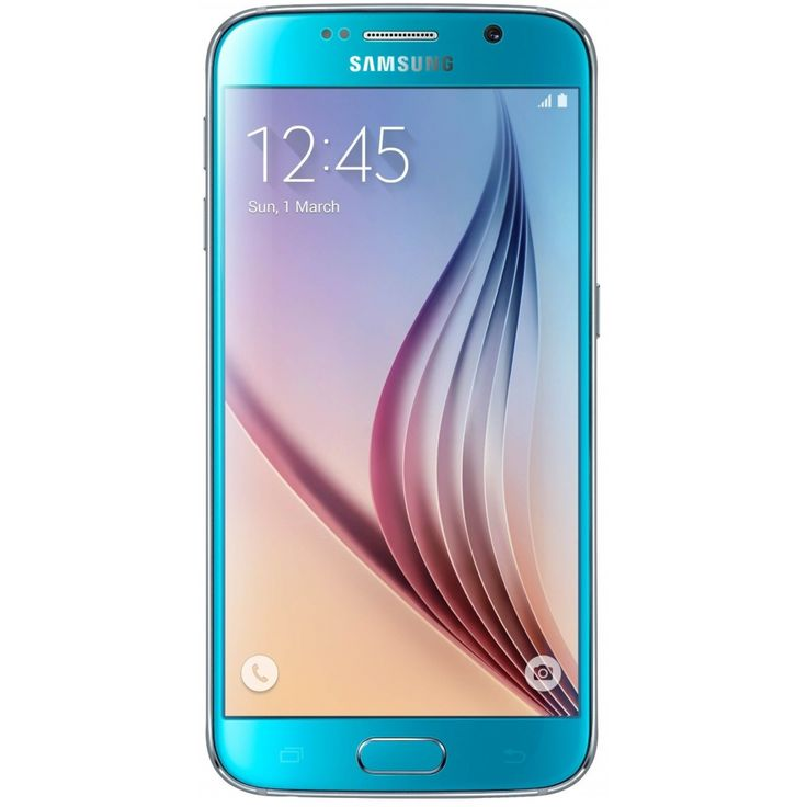 Image of Samsung Galaxy S6 G920F 4G LTE 32GB SIM FREE / UNLOCKED - Blue