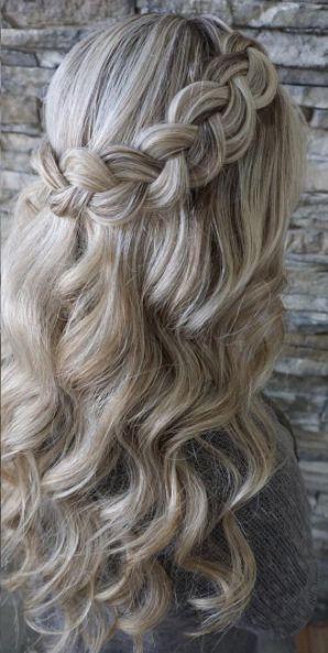 Empfohlene Frisur: Heidi Marie Garrett - Haar- und Make-up-Mädchen; Hochzeitsfrisur Idee.