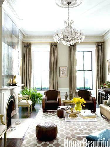 Elegante Wohnzimmer-Ideen Innenarchitektur 2018 Pinterest - wohnzimmer braun ideen
