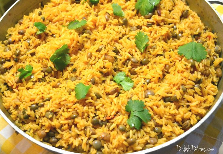 *** Arroz Con Gandules | Delish D'Lites - The best recipe I've found so far! So flavorful, and the parboiled rice gives the perfect tender, and not mushy result.