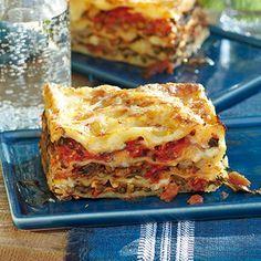 Linsen-Mangold-Lasagne