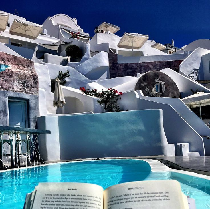 Being in a place made from the most beautiful novel.