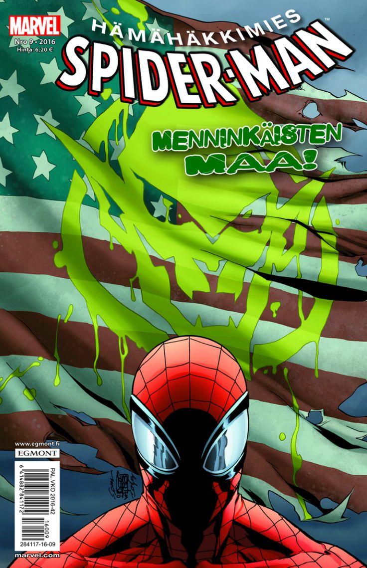 Hämis 9/2016 nyt lehtipisteissä! #Marvel #SpiderMan #sarjisparhaus