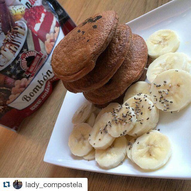 Y hoy para #desayunar #pancakes con harina de avena #maxprotein omo las de @lady_compostela. Vaya pinta!  Recuerda que puedes encontrarlas de varios sabores con un -10% en www.gnc.com.es hasta el 23 de diciembre!  #GNC #vivemejor #livewell #breakfast #oatmeal #cleanfood #comesano  #Repost @lady_compostela with @repostapp  Mis #tortitas de hoy tienen un sabor especial y es que he utilizado esta Harina de Avena de #maxprotein sabor 'Bombón Rocher' .. el sabor está súper logrado es abrir el…