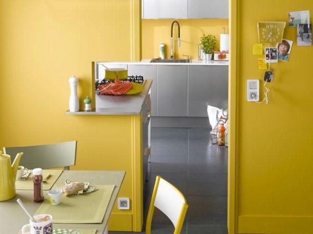 Les 25 meilleures idées de la catégorie Murs de la cuisine jaune ...