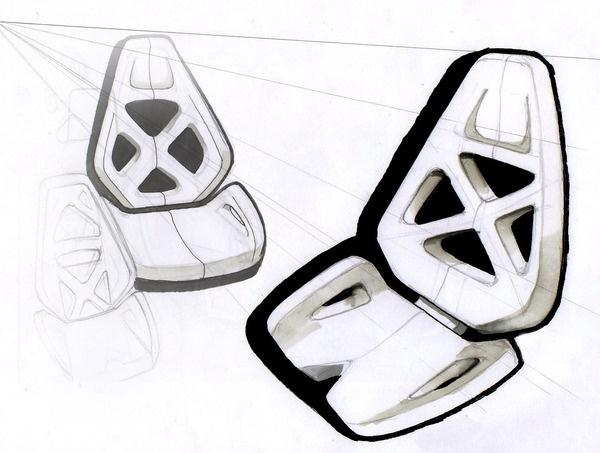 Furniture by Timur Pinar, via Behance