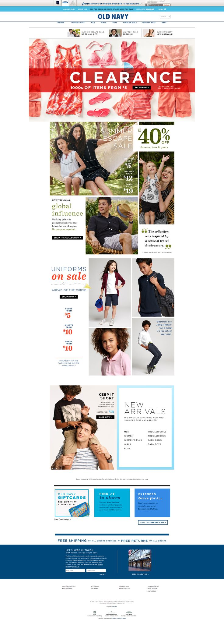 old navy web design || Weekly web design Inspiration for everyone! Introducing Moire Studios a thriving website and graphic design studio. Feel Free to Follow us @moirestudiosjkt to see more remarkable pins like this. Or visit our website www.moirestudiosjkt.com to learn more about us. #WebDesign #WebsiteInspiration #WebDesignInspiration ||