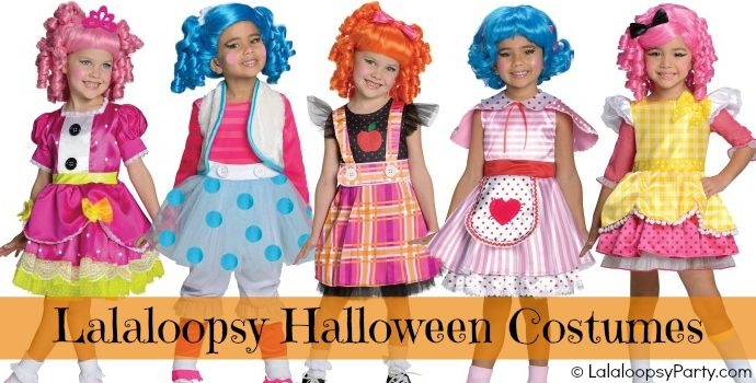 Lalaloopsy Halloween Costumes for Toddlers & Girls!! Make sure to order early before they sell out! #halloween #lalaloopsy #costume
