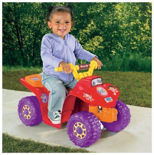 Power Wheels Dora Lil Quad by Fisher-Price, http://www.amazon.com/dp/B000G99TQG/ref=cm_sw_r_pi_dp_aJvHrb0CY8P44