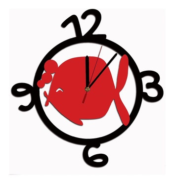 Pesce Animals Clock, 59€, now featured on Fab.