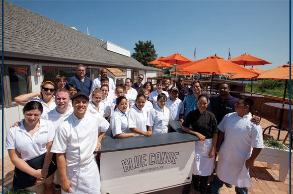 Blue Canoe Oyster Bar & Grill | 104 3rd St, Greenport, NY | 631.477.6888
