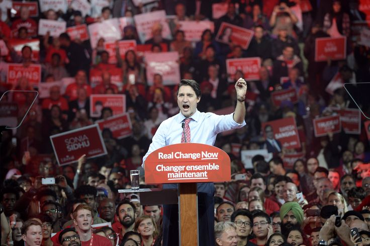 Image result for liberal party rally canada