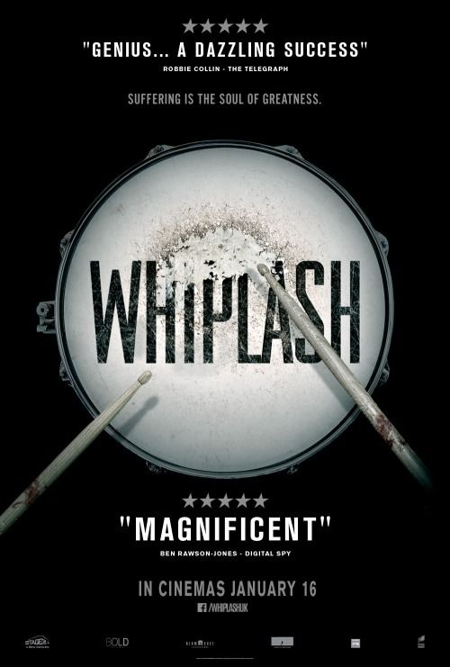 Intense and sometimes jarring, Whiplash is  is a musician's dream...or worst nightmare. Bang up performances from J.K. Simmons and Miles Teller!