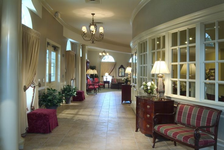 Jst funeral home design paquelet funeral home and arnold - Modern funeral home interior design ...
