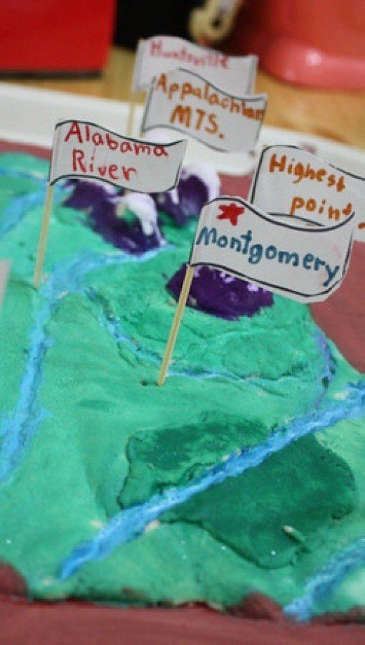 How can a little flour, water, and paint become a fantastic hands-on geography project, full of educational benefits? With salt dough maps, that's how!