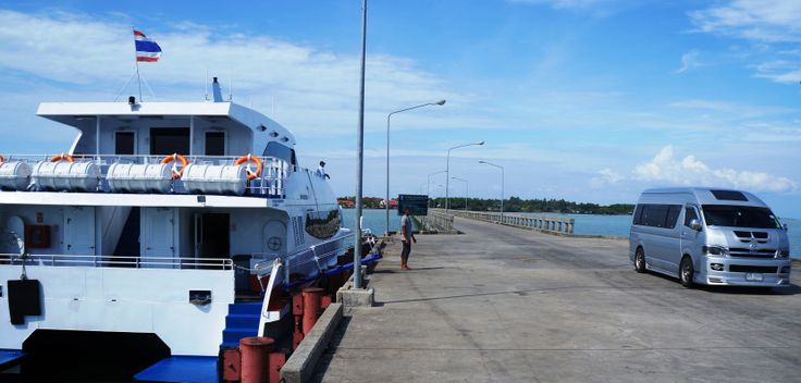 Pier Laem Sok at the mainland...with pick-up service from Bangkok or Trat Airport