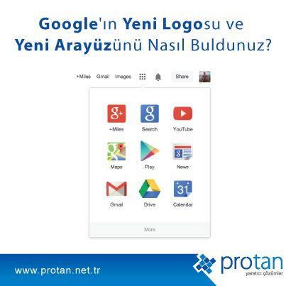 Google'ın Yeni Logosu ve Yeni Arayüzünü Nasıl Buldunuz? http://blog.protan.net.tr/google-yeni-logo-ve-yeni-navigasyon-cubugu #Google #Logo #Navigasyon #Arayüz