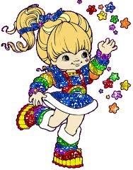 80's cartoons Rainbow Brite was one of my favorite!