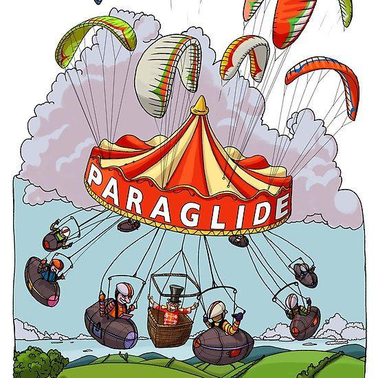 Paragliding Merry-Go-Round