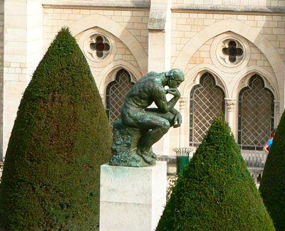 Penseur, Rodin aux Invalides, 7ème