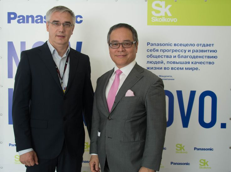 Nikolay Sokolovsky #SpinetiX Russia and Masato Nakamura #Panasonic