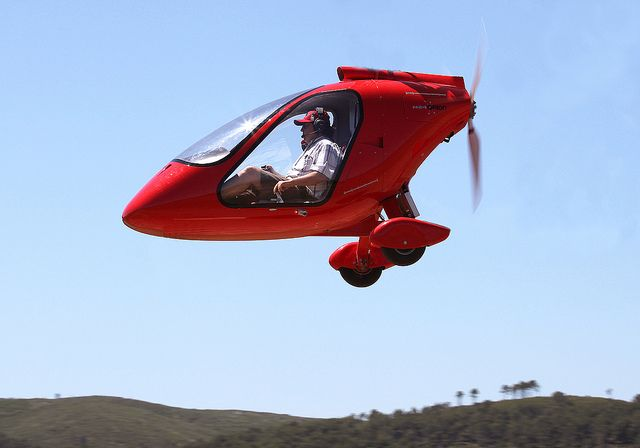 Experimental aircraft. So cute! Josep Ventura, via Flickr