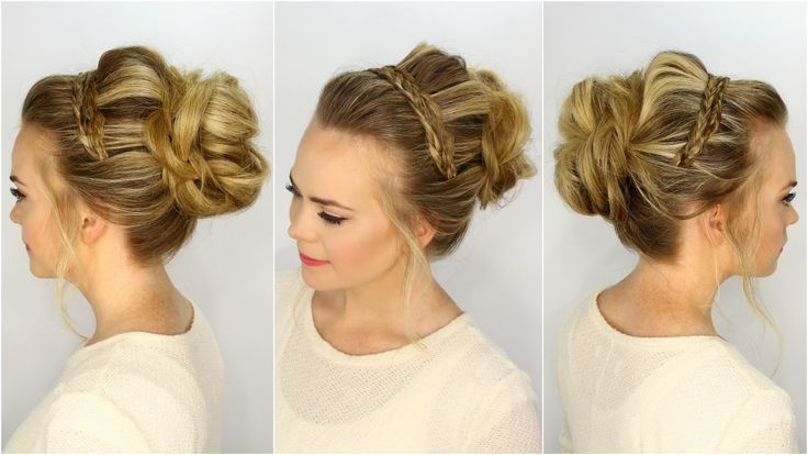 This hairstyle was inspired by a picture I spotted recently on Pinterest. It's not exactly the same but I love the way it turned out. When I first saw it I i...