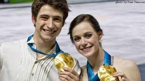 Tessa Virtue and Scott Moir   Canadian Figure Skaters