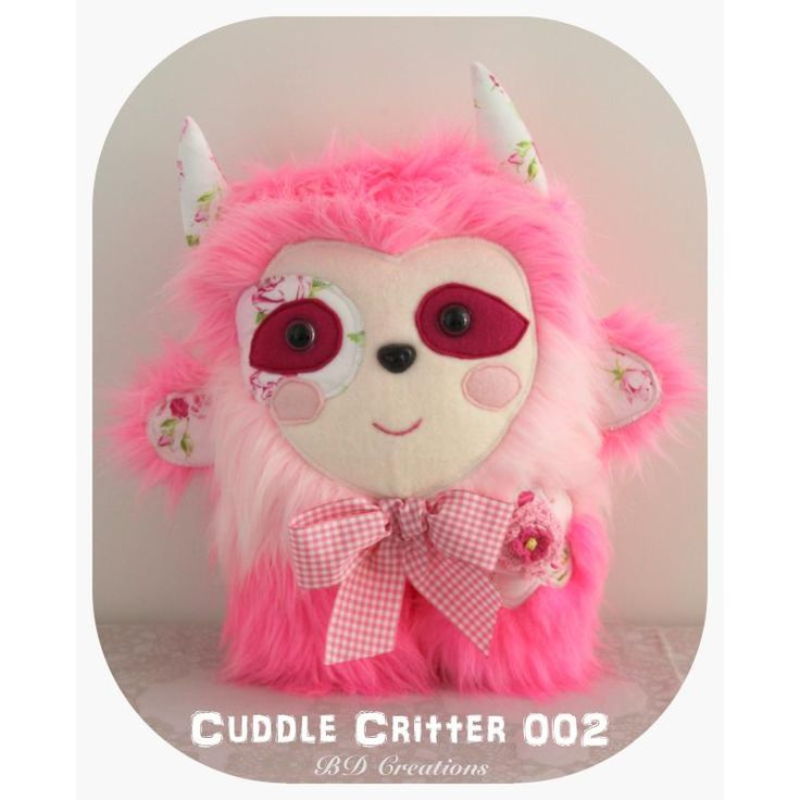 $55.00 Cuddle Critter 002 by bdcreations on Handmade Australia