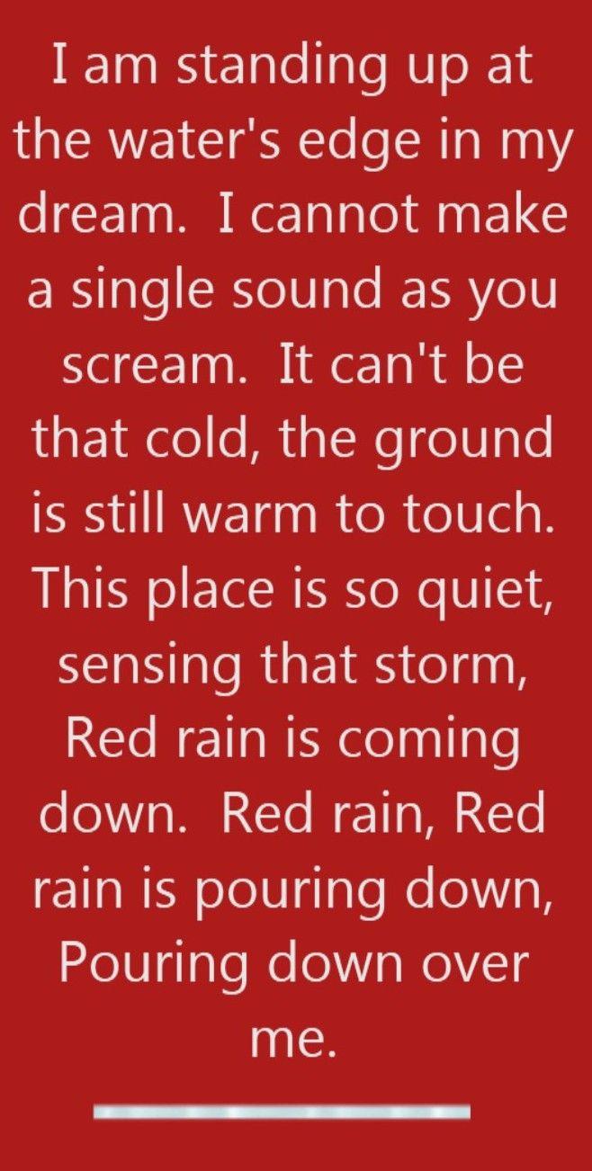 Peter Gabriel - Red Rain - song lyrics, song quotes, songs, music lyrics, music quotes,