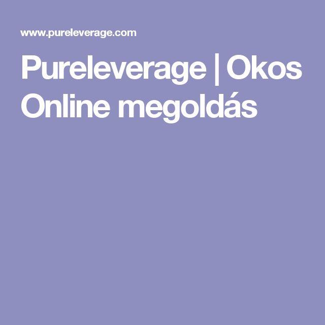 Pureleverage | Okos Online megoldás