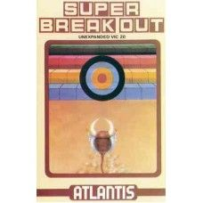 Super Breakout for Commodore Vic 20 from Atlantis