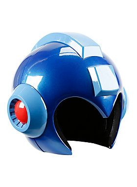 <p>There have been attempts at creating a wearable <i>Mega Man</i> helmet over the years, but its never been made officially. Everyone's been clamoring for one - and now you really can be <i>Mega Man</i> with this full-size, wearable <i>Mega Man</i> helmet made of high quality ABS plastic with a high polish finish, authentic proportions and details, plus working LED lights! A unique clamshell hinge allows the front and back half of the helmet to easily open up to comfortably fit your head…