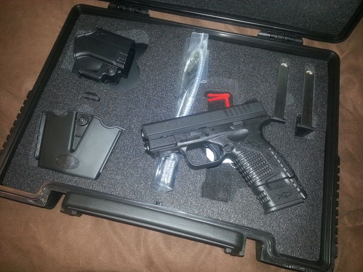 My newest baby. Springfield xds 45 compact....never shot a 45 so this should be interesting!