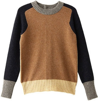 Color block knit from Lliann Loeb / ShopStyle: イリアンローヴ カラーブロックプルオーバー