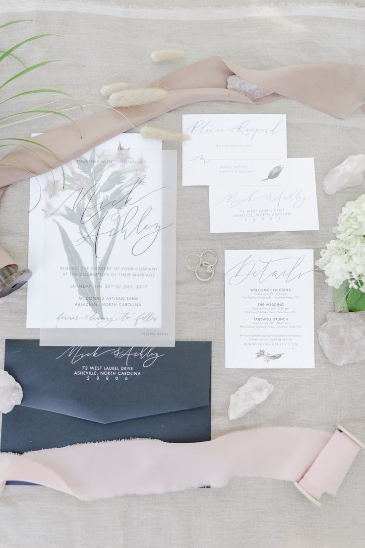 Gorgeous Grey And White Invitation Suite Raleigh Durham Wedding Raleigh Durham Wedding Vendors Nc Weddi Grey Wedding Invitations Plan Your Wedding Wedding