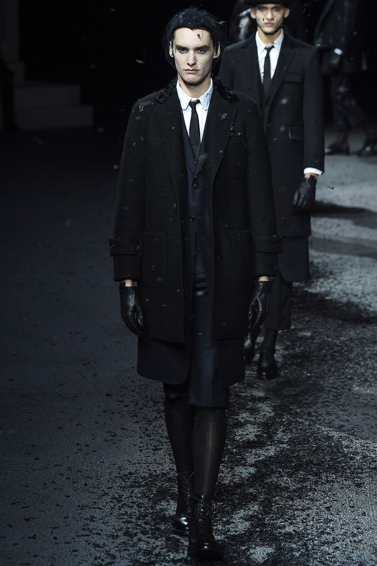 Thom Browne Fall 2015 Menswear Fashion Show