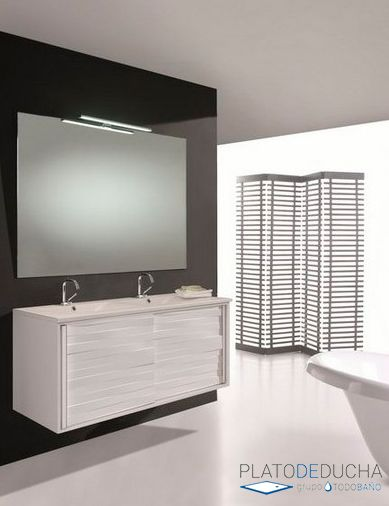 14 best lavabo doble images on pinterest double sinks for Mueble unik victoria
