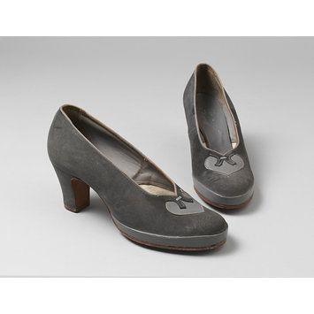 Pair of shoes - Burlington 1940s