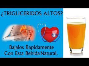 Elimina los triglicéridos y el colesterol de tu sangre con este remedio natural - YouTube