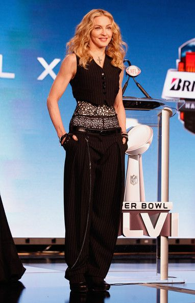 Madonna Photos: Bridgestone Super Bowl XLVI Halftime Show Press Conference