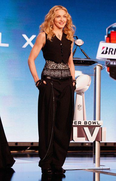 Madonna Photos: Bridgestone Super Bowl XLVI Halftime Show Press Conference