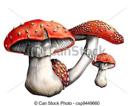 mushroom line art - Google Search