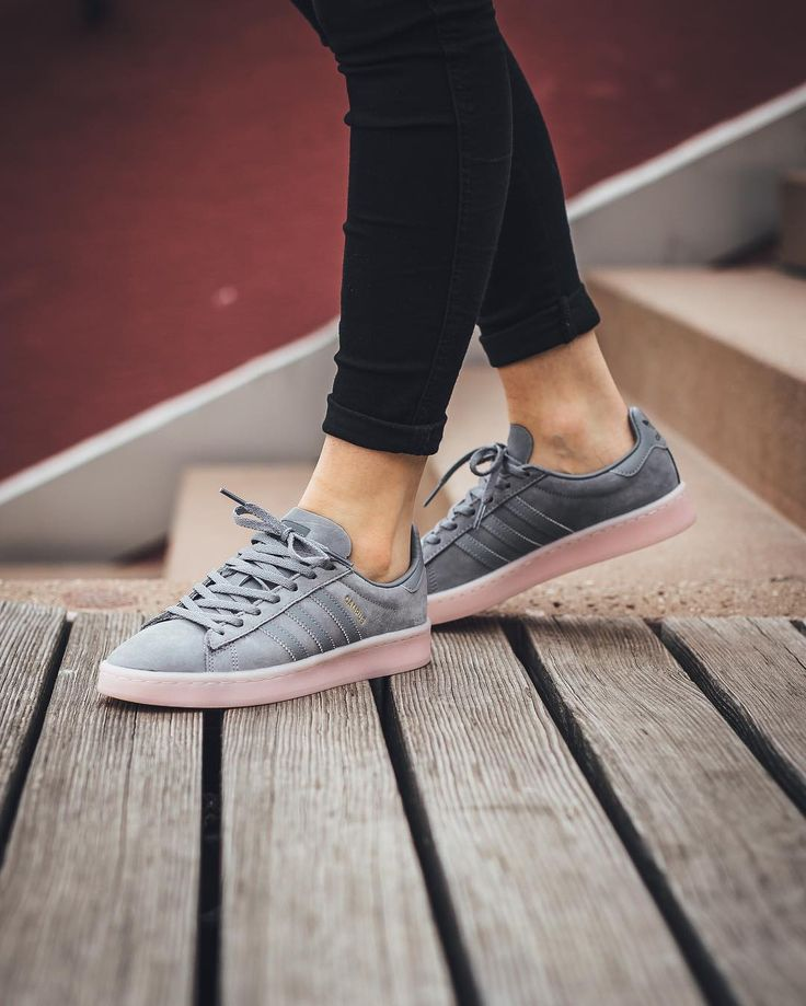 "Titolo Sneaker Boutique on Instagram: ""RELEASE ADIDAS Campus W ""Grey Three/Grey Three/Icey Pink"" Thursday, 15th June online 0.00AM CET"